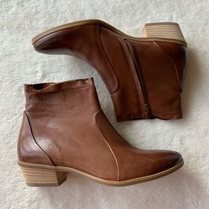 NIB Paul Green Boots Ankle Booties Shaw Nougat 7